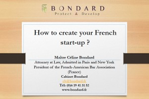 Create a french start-up